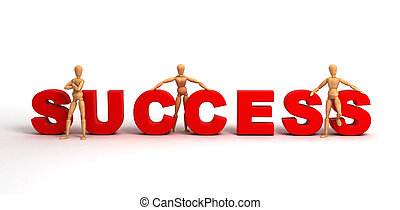 Success (With clipping path)