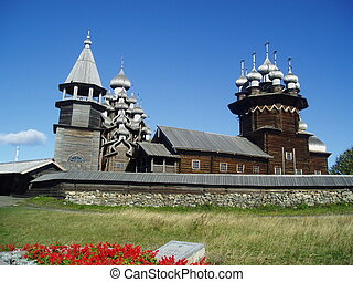North Russia Kizhi woods architecture. If you download this...