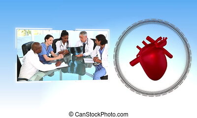 Videos of medical office - Animation of medical office