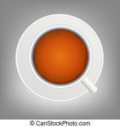 cup of tea icon vector illustration