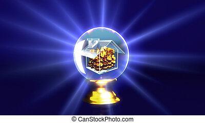 crystal ball rich