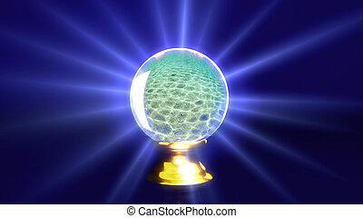 crystal ball beach