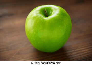 Green apple - Healthy nutrition concept with apple on the...