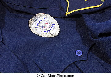 Security Uniform - Security badge used by security guards...