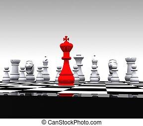 Chess - 3D - 3D Chess - King