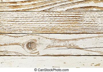 grunge white pinted wood