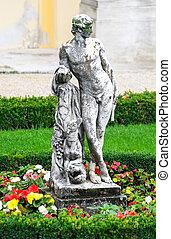 Schonbrunn palace in Vienna Austria - Statue