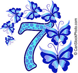 Beautiful number seven