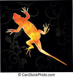 Abstract Vector Lizard