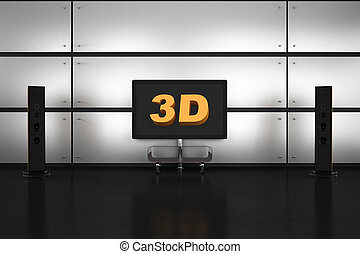 Home 3D Theater Room