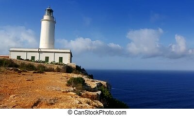 Formentera La Mola lighthouse sea - Formentera La Mola...