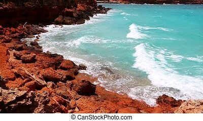 Cala Saona in Formentera island