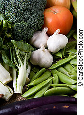 Fresh vegetables - A shot of variety of fresh vegetables