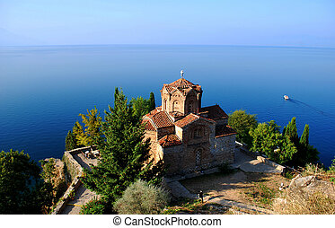 Church of St. John at Kaneo - Church St. John/Jovan Kaneo at...