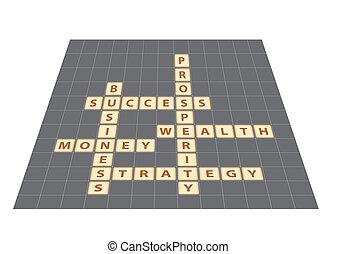 business words crossword