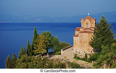 Church of St John at Kaneo, Ohrid, Macedonia