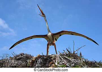 Quetzalcoatlus, pterosaur. - Quetzalcoatlus, classification...