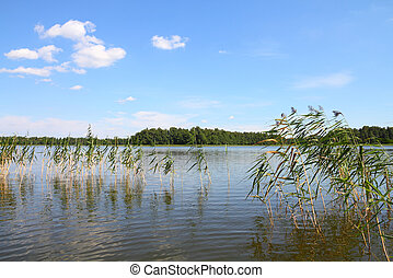 Mazury - Masuria (Mazury) - famous lake district in Poland....