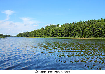 Masuria, Poland - Masuria (Mazury) - famous lake district in...