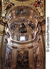 Sant Andrea Della Valle, Rome - Rome, Italy - famous...
