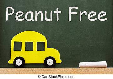 学校, ピーナッツ, 無料で