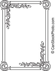 decorative frame for the page