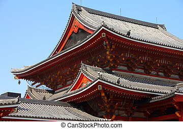 Nagoya - Osu Kannon - Nagoya, Japan - city in the region of...