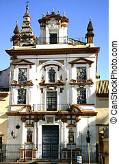 Decorative Building - Seville - Highly decorative building...