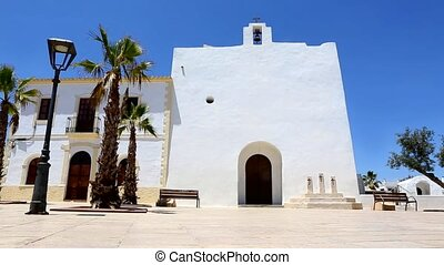 Formentera San Francisco church - Formentera San Francisco...