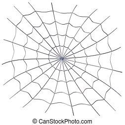 spiderweb - rendered spiderweb for new computer generation...