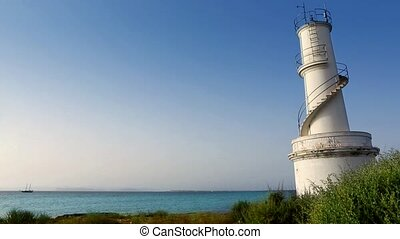 La Savina lighthouse in Formentera