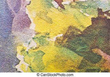 Colorful paints texture
