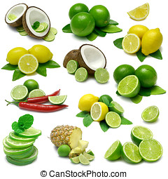 Lemon and Lime Sampler - Lime and Lemon Combinations...