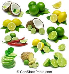 Lemon and Lime Sampler - Lime and Lemon Combinations...