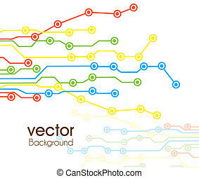 illustration of arrivals and transport stops, vector...