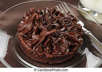 Large brownie