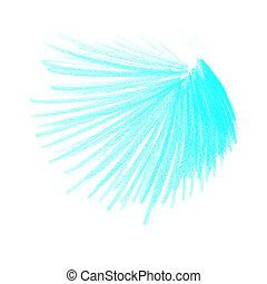 azul, cor, desenhos, lápis