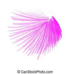 Cor-de-rosa, cor, desenhos, lápis