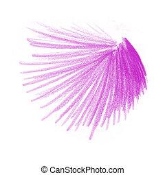 roxo, cor, desenhos, lápis