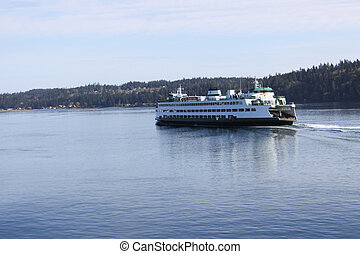 Ferry on Puget Sound