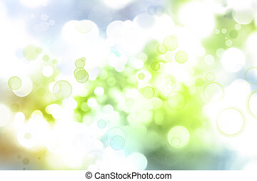 Abstract blurs background - Abstract green and blue tone...