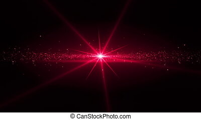 Video of magenta star