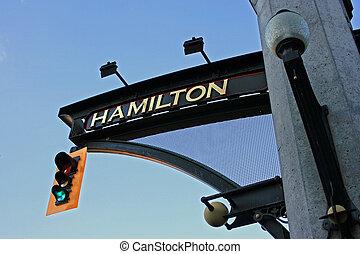 Hamilton, Ontario. - Downtown Hamilton, Ontario, Canada.