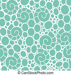 sea lace pattern - seamless vector lace-like pattern with...