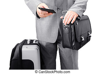 Traveling Businessman Calling by Ph - Traveling Businessman...