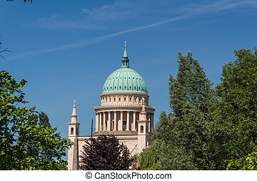 St Nicholas Church in Potsdam, Germany