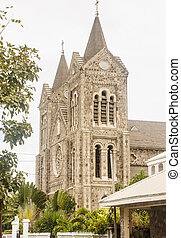 Old Stone Church on St Kitts - Old Anglican Church on island...