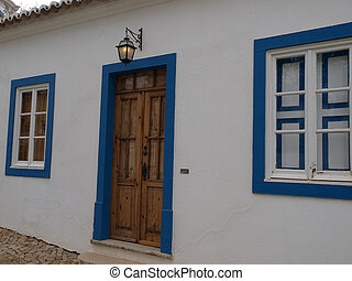 A typical architecture of the Algarve region in Portugal