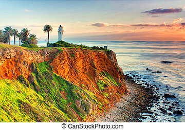 Point Vicente Lighthouse near Los Angeles, California