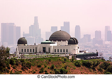 Griffith Park Observatory in Los Angeles, California